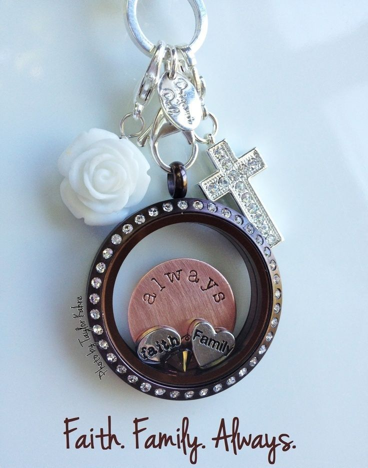 What's important to you? Faith & Family - Design your Origami Owl Living Locket today: whoodatowl.origamiowl.com