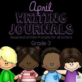 This unit has everything you need to tackle Journal writing for the entire month of April.  It is designed to make it quick and easy for you and your elementary students to complete your journal writing block with as little prep time as possible!