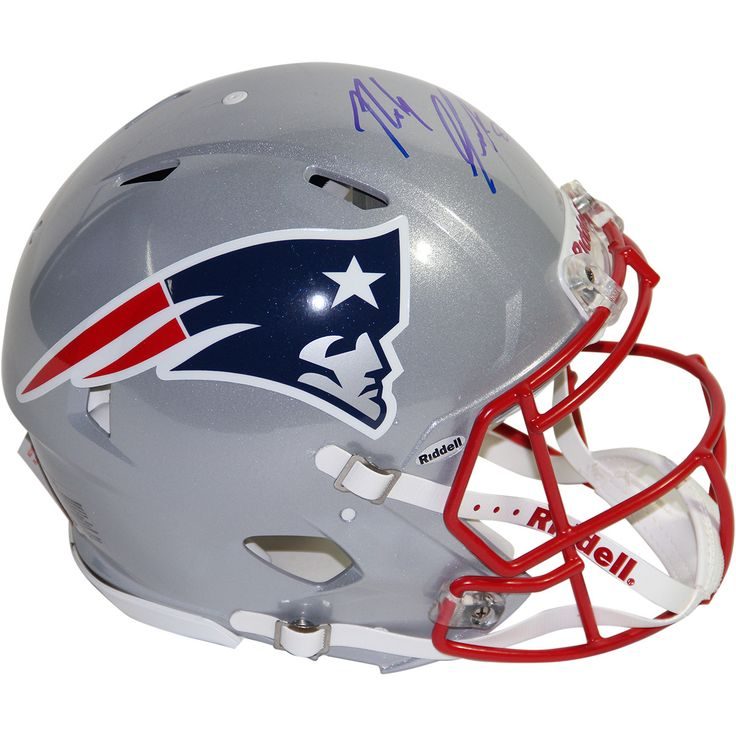 Rob Gronkowski Signed New England Patriots Speed Authentic Current Helmet (New England Picture Auth) - Football star Rob Gronkowski has personally hand-signed this Patriots speed authentic current helmet. 100% Guaranteed AuthenticNew England Picture Authenticated. Gifts > Licensed Gifts > Nfl > New England Patriots. Weight: 1.00