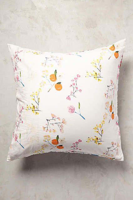 Anthropologie EU Garden Chinoiserie Pillowcase