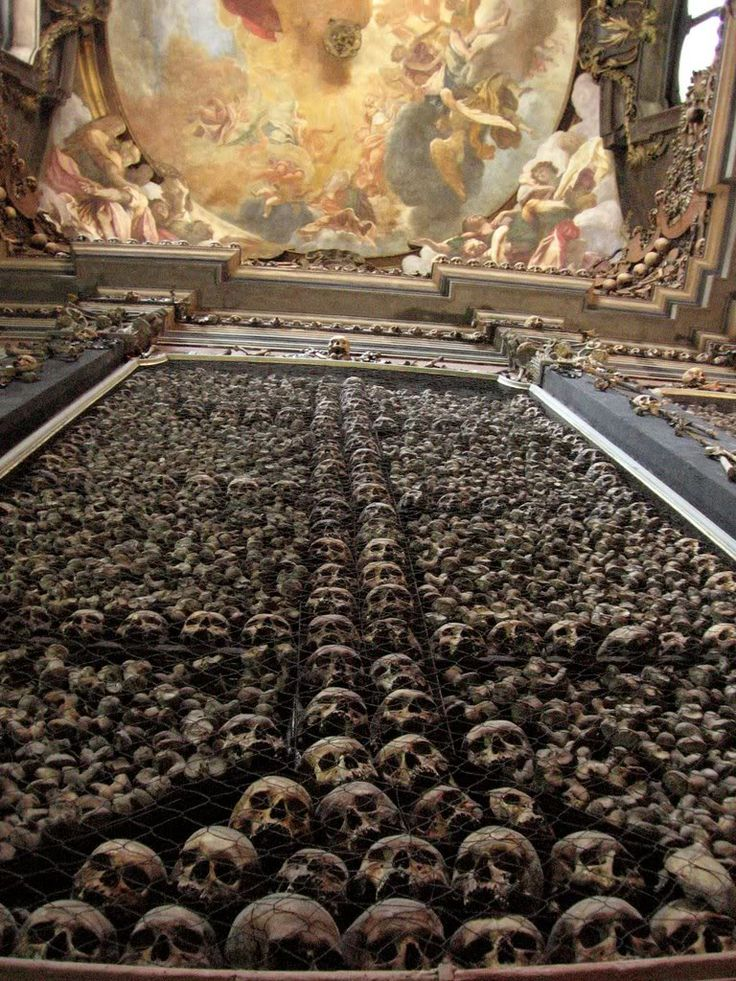 Whoa.  Prague doesn't immediately come to mind, but I'm definitely interested in seeing the Sedlec Ossuary - Church of Bones