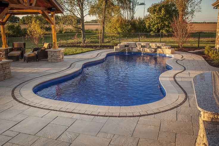 25 best ideas about fiberglass inground pools on - Swimming pools burlington ontario ...