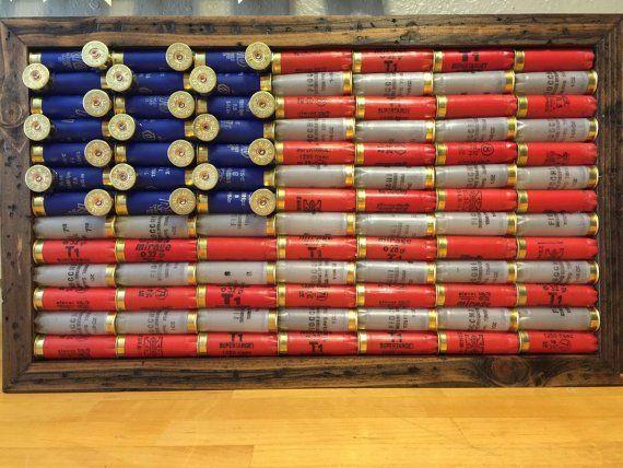 Stars and stripes and shotgun shells.