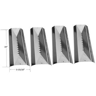 Grillpartszone- Grill Parts Store Canada - Get BBQ Parts,Grill Parts Canada: Centro Heat Shield | Replacement 4 Pack Stainless ...