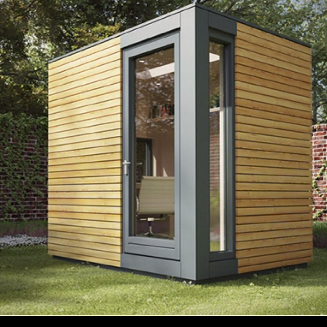 56 best images about amazing garden offices and rooms on for Garden office pod