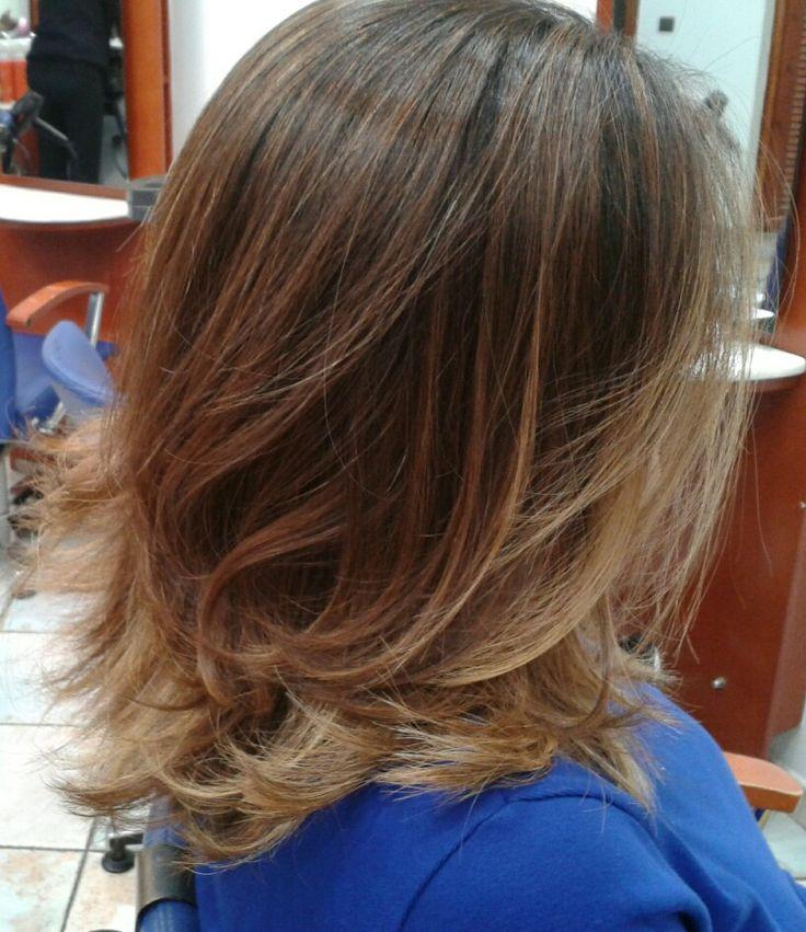 Contiouring hair