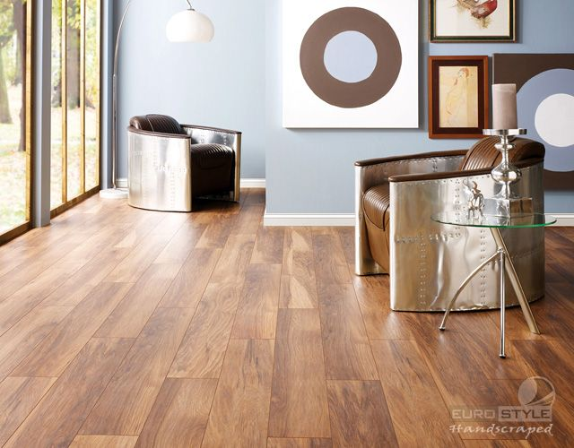 Eurostyle Appalachian Hickory Handscraped Laminate Floors