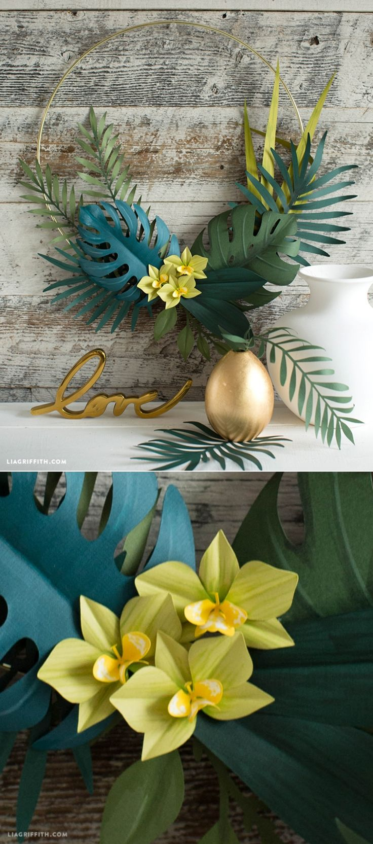 #PaperFlowers You can make this! Pattern and tutorial at www.LiaGriffith.com: