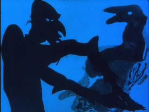 Lotte Reiniger - The Adventures of Prince Achmed, 1926. the oldest surviving animated feature film. Features a silhouette animation technique Reiniger had invented which involved manipulated cutouts made from cardboard and thin sheets of lead under a camera. The technique she used for the camera is similar to Wayang shadow puppets, though hers were animated frame by frame, not manipulated in live action.