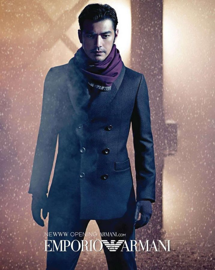 Takeshi Kaneshiro for Emporio Armani
