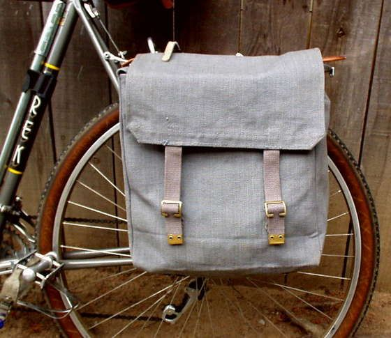 DIY Panniers. More of a conversion tutorial than a sewing pattern. Shows you how to convert a few different things.