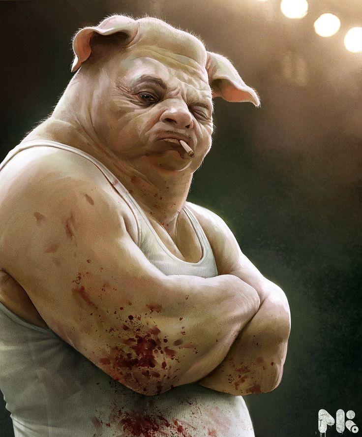 Boxer by Michael Kutsche | 2D | CGSociety