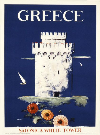 Dream Of Visiting Greece Through The Ages With These Vintage Posters