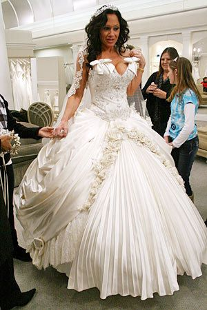 69 best that dress images on pinterest marriage, wedding Wedding Dress Designers Kerry kerry raso designer pnina tornai exclusively for kleinfeld price $17,000 $21,000 weird wedding dressexpensive wedding dress designers kerry