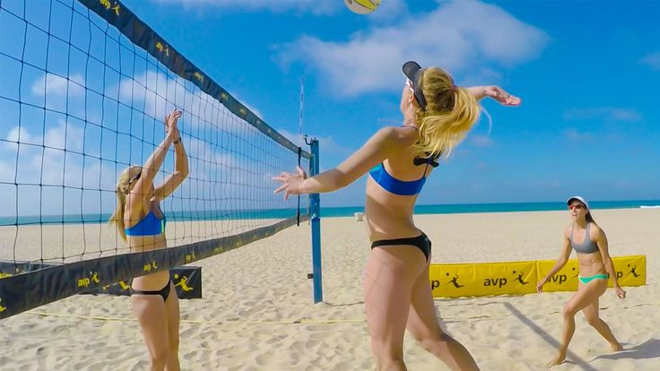 Professional Beach Volleyball player and Silver medalist, April Ross, shows us the importance of teamwork and dedication in order to become one of the top players…