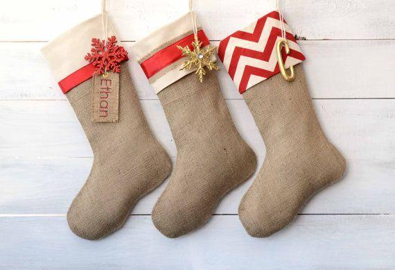 f5f4a9f16685 VYRÁBÍME VÁNOČNÍ DEKORACE III  Naplňte si dárečky vlastní vánoční punčochy!  - Terry móda - Prodej látek online