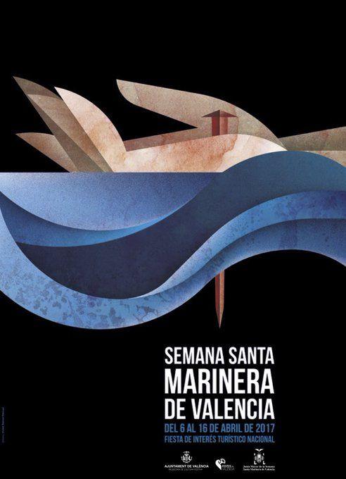 Cartell Setmana Santa Marinera del Cabanyal. València