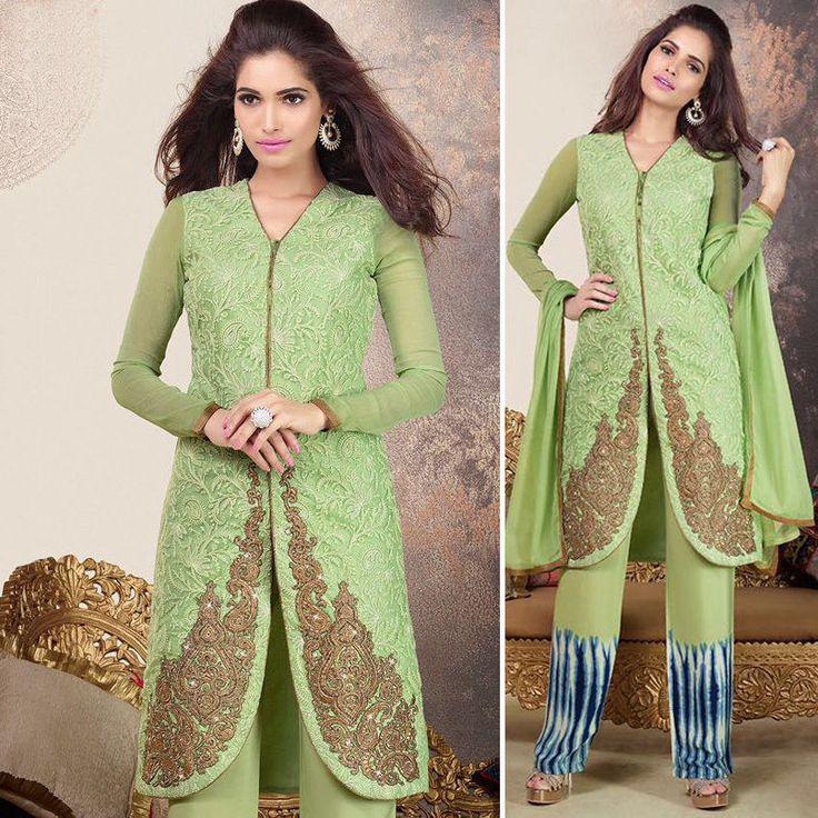 Latest indian salwar kameez bollywood punjabi suit pakistani shalwar EID clothes #punjabisuit #Salwarkameez