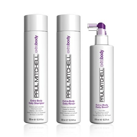 Paul Mitchell Extra Body Products. root lift spray is awesome for big hair