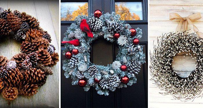 Vianoce sú čoskoro tu a vy nemáte pripravené žiadne návrhy na vhodnú ozdobu na Vaše vchodové dvere? Načerpajte inšpiráciu a vyrobte si doma nádherný zimný veniec. Šišky, ihličie a rôznofarebné stužky sú neodeliteľnou súčasťou tejto dekorácie.
