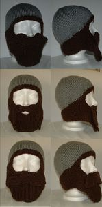 Bearded Toque: Free #crochet and #knit balaclava patterns to keep you warm this winter!
