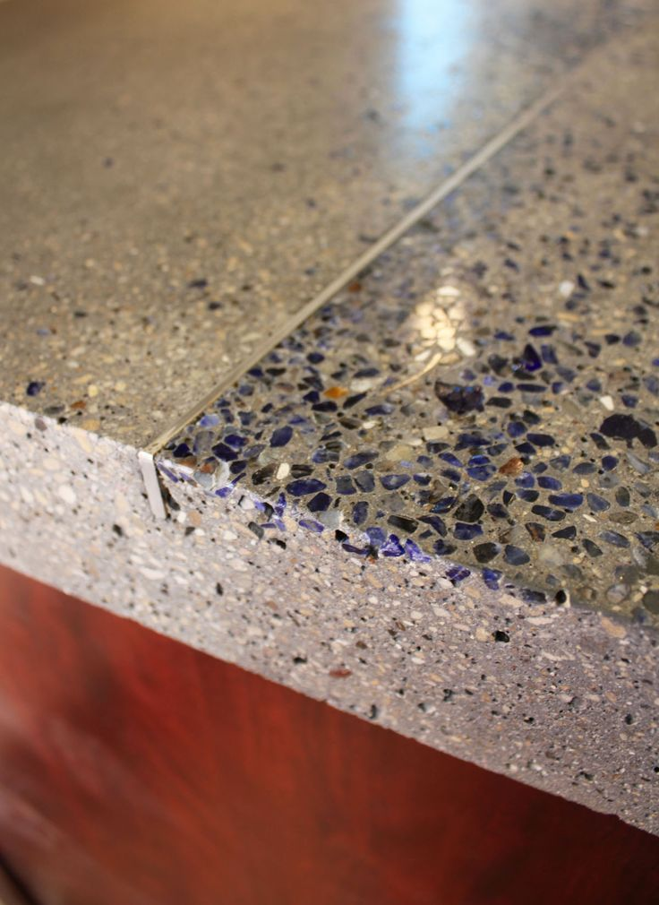 Stone Inlays Sweet Way To Inlay Quartz Vein Concrete