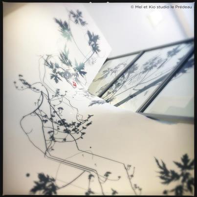 Design Mural by Mel et Kio  14 étages à découvrir sur le site.  © Mel et Kio - Le Prédeau