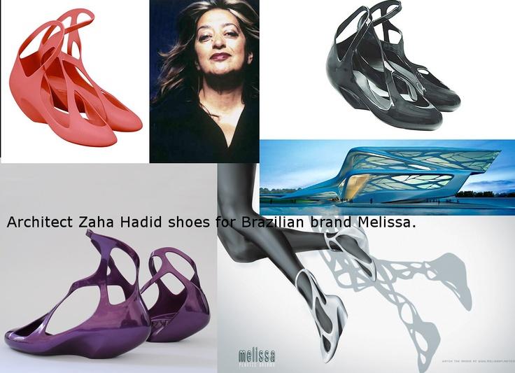 Shoes Zaha Hadid Melissa Fashion Innovation