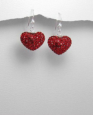 silver vogue - Forever young heart earrings, $25.00 (http://www.silvervogue.com.au/forever-young-heart-earrings/)