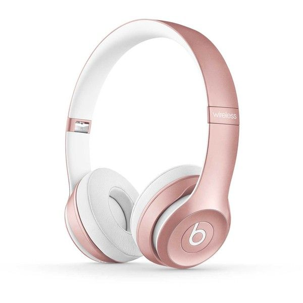 Beats Solo2 Wireless Headphones : Bluetooth | Beats By Dre ($290) ❤ liked on Polyvore featuring accessories, electronics, beats by dr dre headphones and beats by dr. dre