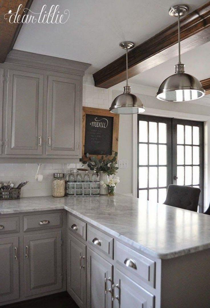 123 grey kitchen cabinet makeover ideas