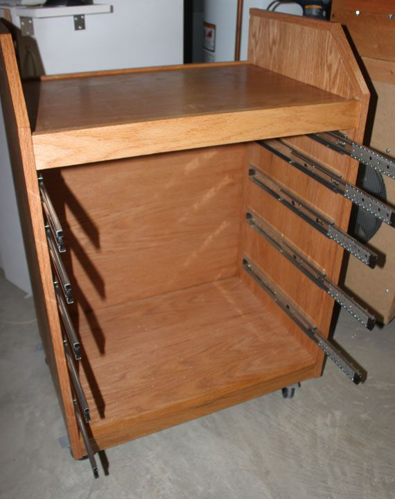 wooden tool box on wheels - Google Search