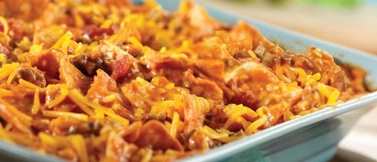 Beef Taco Bake   – Casserole recipes