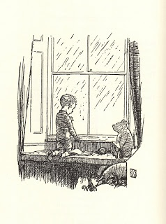 """""""You can't save time. You can only spend it, but you can spend it wisely or foolishly.""""   ― Benjamin Hoff, The Tao of   Pooh.         Picture A.A. Milnes book """"Now We Are Six"""", illustrated by E. H. Shepard."""