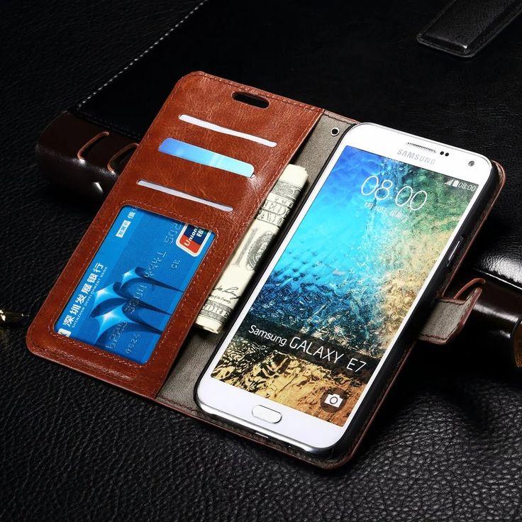 Luxury Card Holder Phone Bag For  Samsung Galaxy On5 Flip PU Leather Cover For Samsung Galaxy On5 G5500 Holder Card Slot