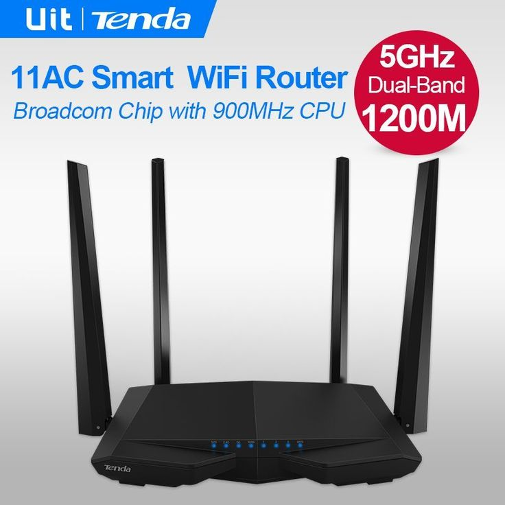 Tenda AC6 1200M Smart AC Wireless WiFi Router Repeater 2.4G/5.0GHz Dual-band Wi-Fi Router Remote APP English / Russian Firmware //Price: $35.08//     #shop