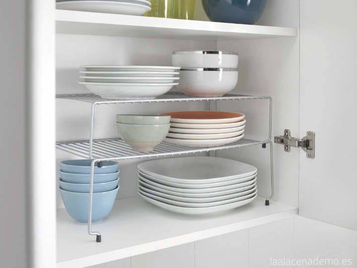 Organiza tu cocina con estas ideas, seguro que hay alguna que todavía no estas utilizando y te podría venir bien.