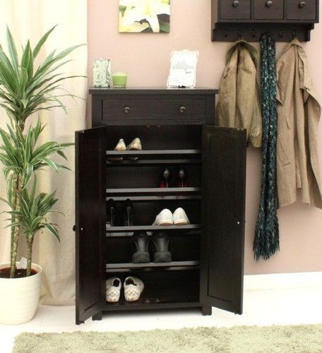 shoe storage solutions | Oak Shoe Storage 100x100 Shoe Storage Solutions, Tips and Ideas