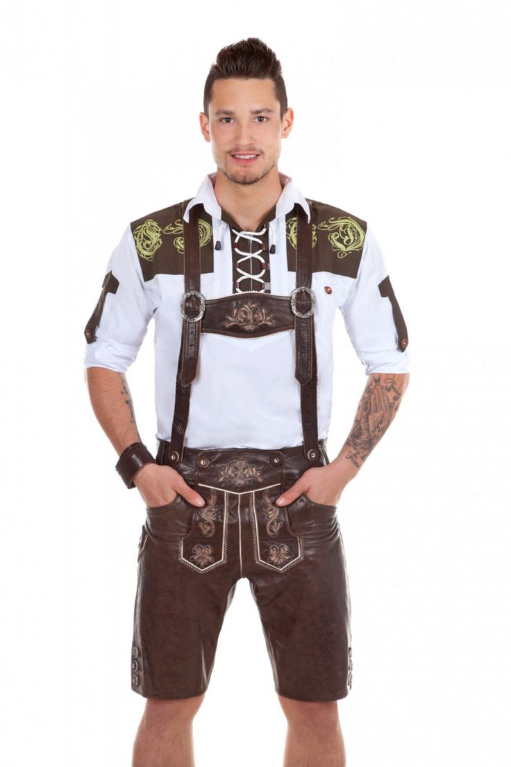 Leather pants for Him, go to the #Oktoberfest in Style with high-quality German #Lederhosen