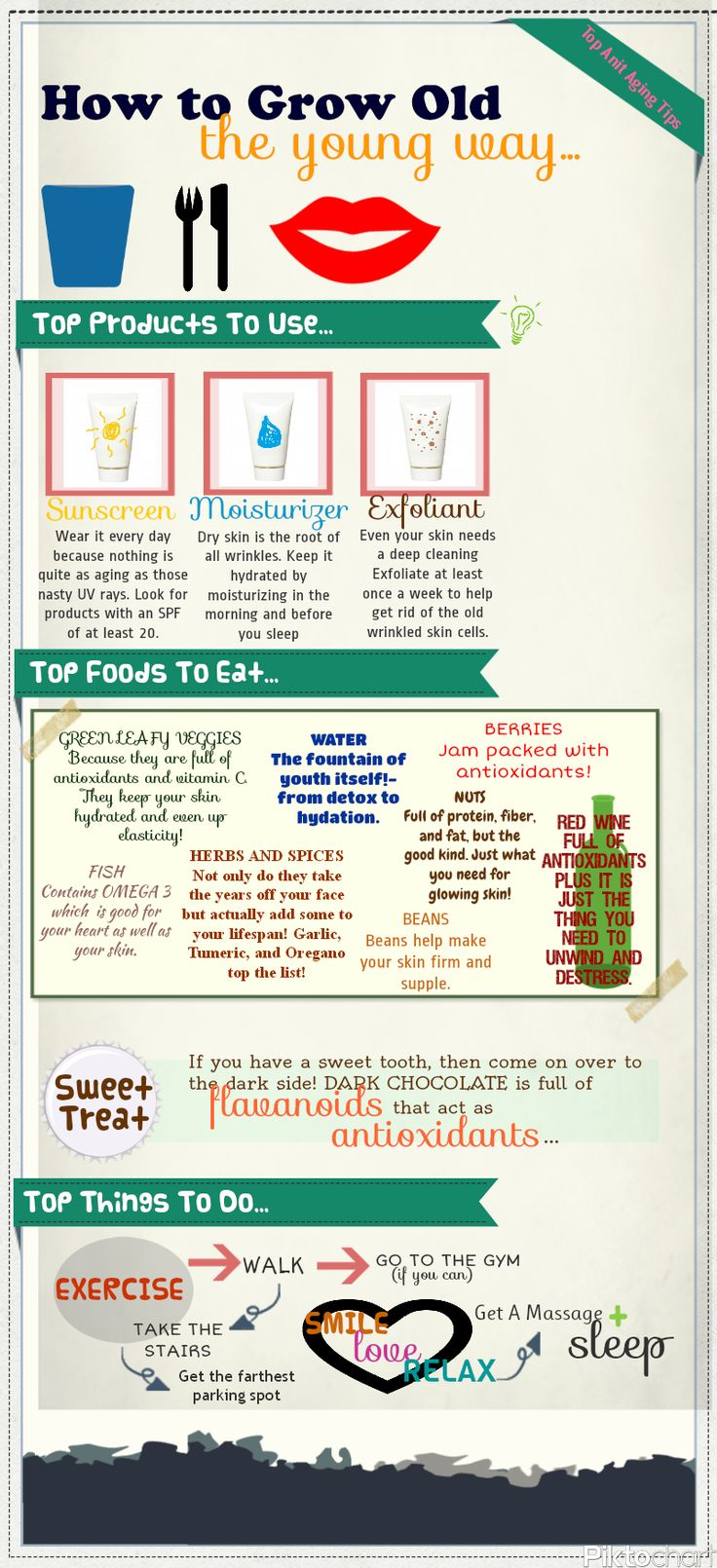 Growing Old the Young Way, Top Anti Aging Tips click image to go to my site