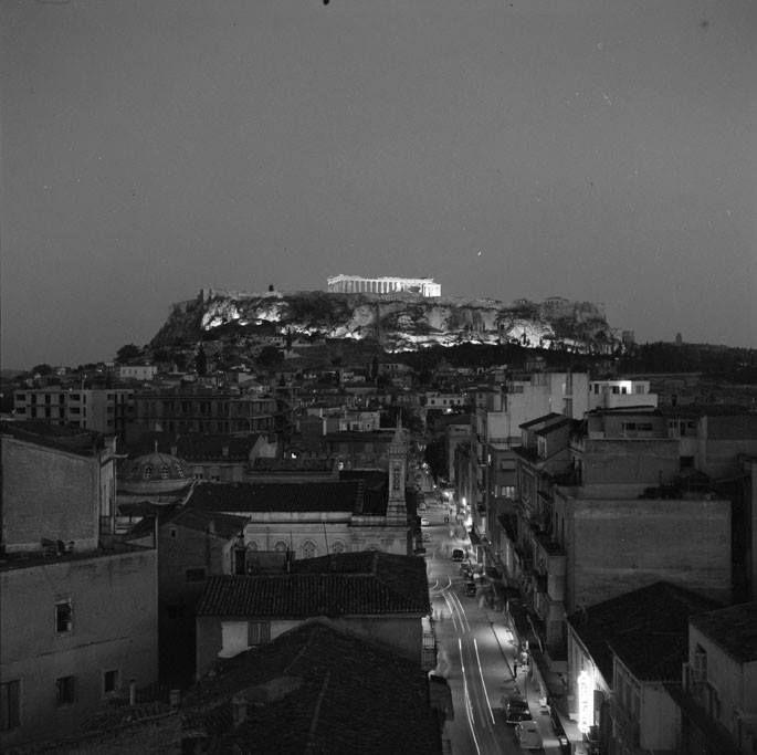Athens. 1960. Photo by Costas Balafas. Benaki Museum Photographic Archives.