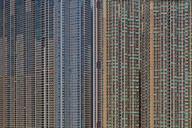 """Hong Kong """"Architecture of Density"""" by Michael Wolf"""