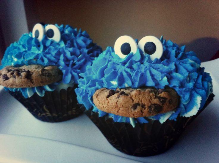 """""""Cookie monster rules the world"""". Dr. Oetker Leivo ja koristele Facebook-sivulla järjestetyn Kaunein Cupcake 2014 -kilpailun parhaimmistoa."""