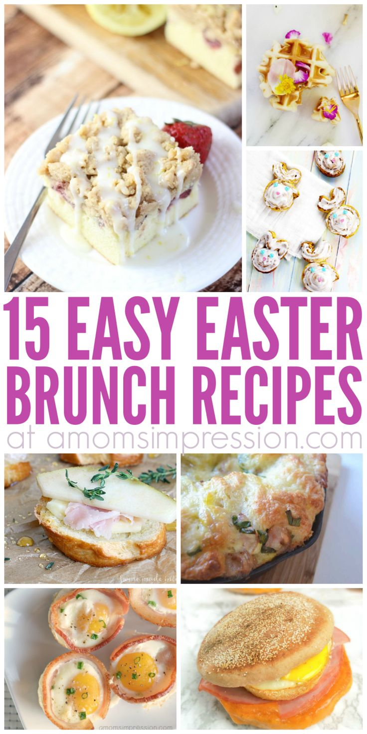 117 best easter images on pinterest eat clean recipes breakfast 15 easy easter brunch recipes everyone will love negle Images