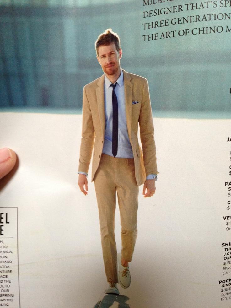 Tan suit - blue shirt | To Dress the Kids | Pinterest | Tan suits ...