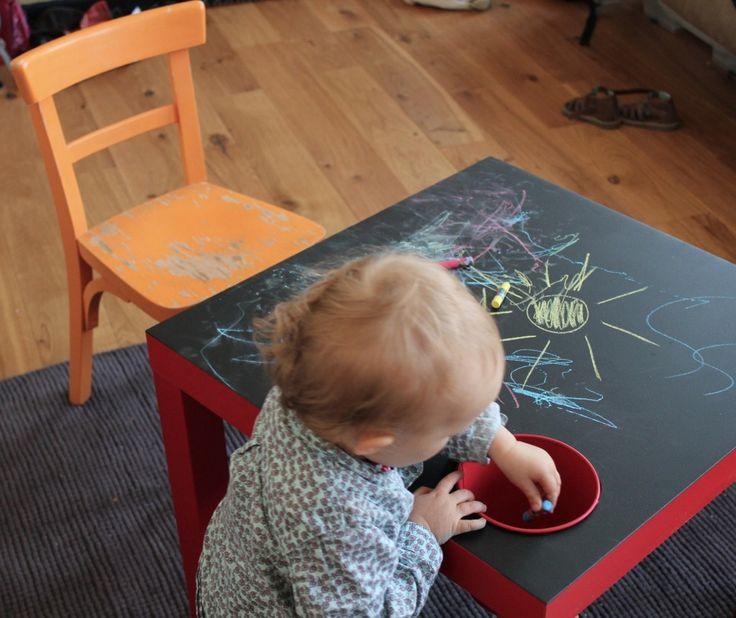 Les 25 meilleures id es de la cat gorie tableau craie sur pinterest murs tableau magn tique - Ikea tableau enfant ...