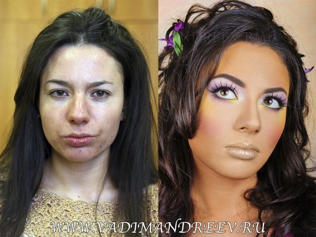 50 Incredible Before and After Makeup Translation people that literally have to put on a face every morning.   NEW Real Techniques brushes makeup -$10 http://youtu.be/tl_2Ejs1_9I   #realtechniques #realtechniquesbrushes #makeup #makeupbrushes #makeupartist #makeupeye #eyemakeup #makeupeyes