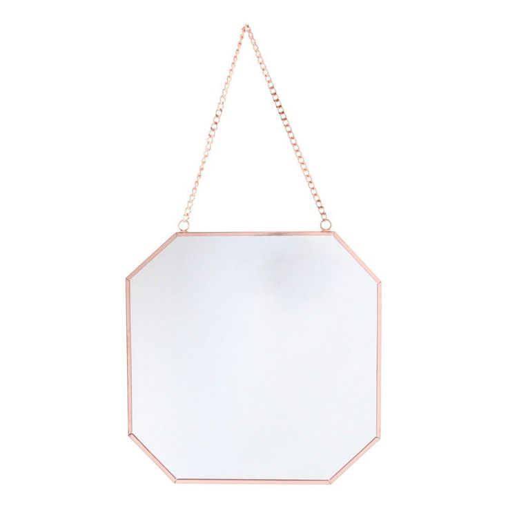 Miroir carr klevering d coration smallable miroirs for Miroir mural fille