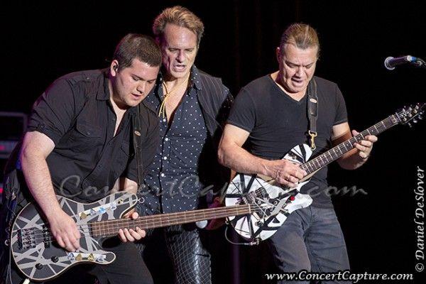 Van Halen - 2013 Rock USA: Wolfgang Van Halen. David Lee Roth & Eddie Van Halen