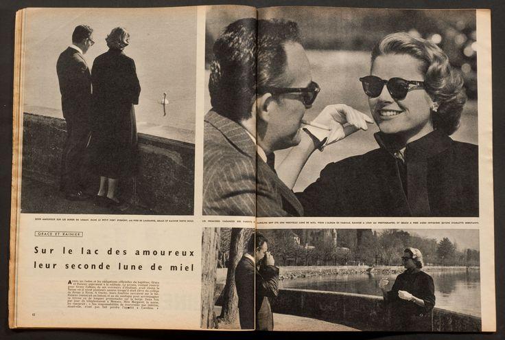 'PARIS-MATCH' FRENCH VINTAGE MAGAZINE JEAN SEBERG COVER 23 MARCH 1957